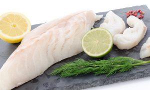 Black cod raw