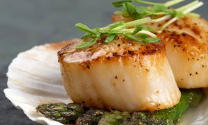 scallops grilled